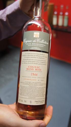 Cognac Grosperrin 1944
