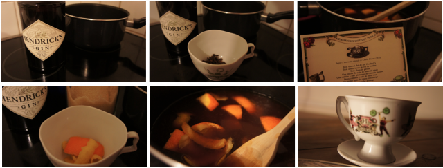 Hot Gin Punch by Hendrick's