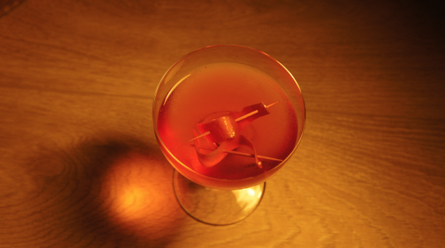 Lucien Gaudin Cocktail x extraterrien